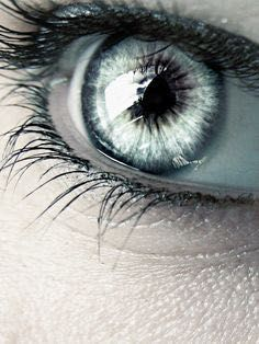 Finally he ripped off his hood and turned to face her. She jolted back at the sight of his eyes. The same way the rest of them did when they caught a glimpse of the gleaming silver. Beautiful Eyes Color, Pretty Eyes, Cool Eyes, Photo Oeil, Blue Eyes Aesthetic, Photos Of Eyes, Look Into My Eyes, Gray Eyes, Human Eye