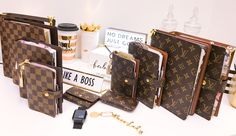 Louis Vuitton Planner, Louis Vuitton Handbags, Louis Vuitton Monogram, Glam Planner, Agenda Planner, Luxury Handbags, Fashion Handbags, School Accessories, Handbag Accessories