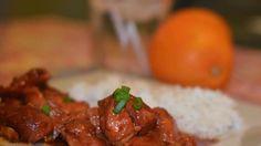 Easy Orange Chicken #Chicken #Crockpot #Orange Watch how to...