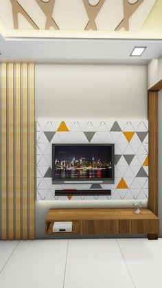 Tv Unit Furniture Design, Tv Unit Interior Design, Modern Home Interior Design, Home Room Design, Interior Designing, Tv Furniture, Living Room Designs India, Living Room Tv Unit Designs, Modern Tv Unit Designs