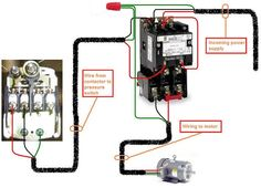 How To Wire A Contactor                                                                                                                                                                                 Más
