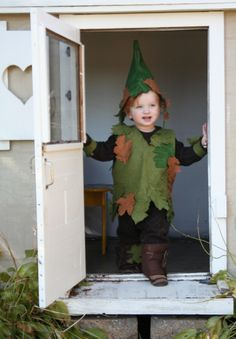 adorable tree elf costume