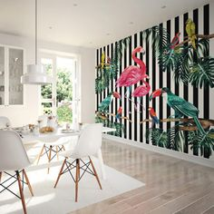 Large Photo Wallpaper Wall Mural for Dining Room Wall Decor