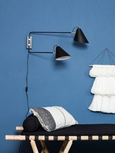 Club Double Arm Wall Lamp
