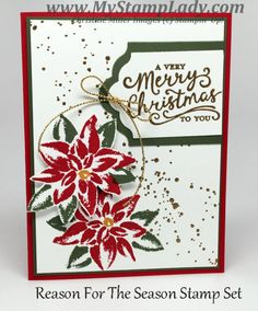 Reason For The Season Handmade Card