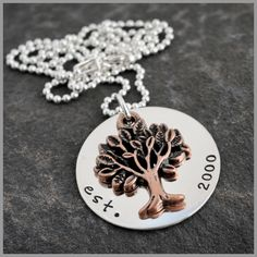 """""""Family Tree Charm"""" from the Vintage Chain"""