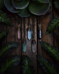 Colgante de cristal collar joyería personalizada joyería Bohemia cuero gargantilla cuarzo rosa amatista ópalo Reiki Chakra Boho Hippie Tumblr