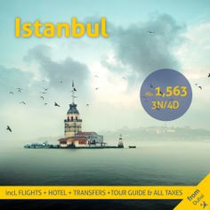 Visit Istanbul, Flight And Hotel, Istanbul Turkey, Travel Deals, Tour Guide, Books Online, Dubai, Infant, Tours