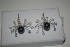 Handmade 'Ari' Swarovski Crystal and Pearl by LHadyoonJewellery, £20.00