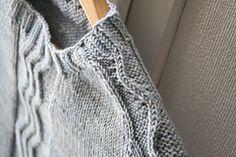 Ravelry: Frozen pattern by Lili Comme Tout, fab boy sweater, lovely shoulder detail