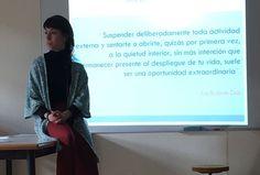 Mindfulness para profesorado en el instituto de Arrigorriaga en el marco del plan de formación del centro, con Izaskun Angulo.