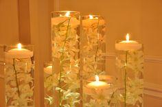 A simple, stunning look. #wedding #decor #ideas
