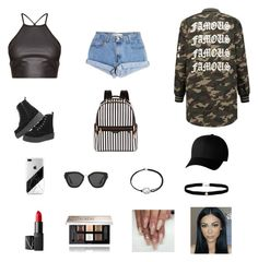 """Untitled #557"" by azharkrymova-1 on Polyvore featuring Levi's, Henri Bendel, Flexfit, Prada, Alex and Ani, Amanda Rose Collection, NARS Cosmetics and Givenchy"