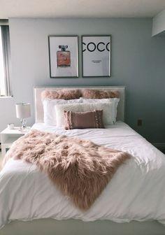 30 Pink Apartment Bedroom Room Decor Ideas You Must Try Pink Apartment Sc. - 30 Pink Apartment Bedroom Room Decor Ideas You Must Try Pink Apartment Schlafzimmer Ideen - Room Ideas Bedroom, Cozy Bedroom, Bedroom Apartment, Modern Bedroom, White Bedroom, Bedroom Inspo, Bedroom Furniture, Bedroom Inspiration, Design Bedroom