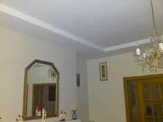 Single stepped ceiling