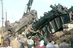 vintage train wreck images | NOTE: all photos on this page are click to enlarge.