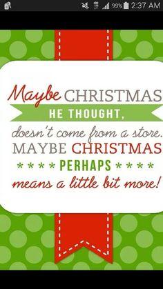 Christmas saying