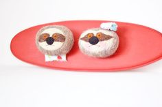 Mr and Mrs Sloth, Sloth Faux Taxidermy, Felted Sloths, Sloths for Nursery, Sloth decor, Sloth collectible, Sloth plaque by wooly topic