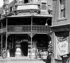 Darroll's Buildings, Wynberg c1900. by Etiennedup, via Flickr Old Pictures, Old Photos, Vintage Photos, Most Beautiful Cities, Old Buildings, Cape Town, Homeland, South Africa, Past