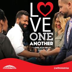 Loving one another with the God kind of love is a decision you make. Most people do not really know what love is. The God kind of love chooses to love even when someone is unlovable. That is what God did for us when He sent His Son to die for us. We were