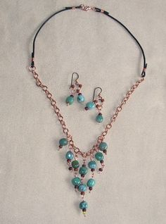 New Version of a So-so Necklace (Lima Beads Design Gallery)