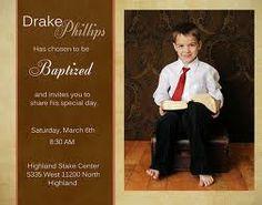 Convite batismo menino.