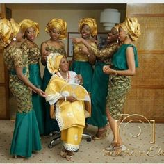 Aso Ebi  Styles - Latest Aso Ebi Wedding Styles Lace in Nigeria - Colour Design Gallery for Guys Ladies & Pregnant Ladies - Aso Bella Naija  Vol Series