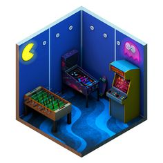 Anatoly Bazarov takes you through how he created a low-poly arcade as part of his brilliant isometric So Hexy project.