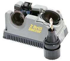 Drill Doctor Drill Bit Sharpener is ideal to sharp high speed steel, masonry, carbide and tin coated bits. The Drill Doctor sharpener is made to work with larger drill bits in the size of and it is perfect to sharpen to bits with one chuck. Power Tool Accessories, High Speed Steel, Tool Steel, Metal Roof, The Life, Power Tools, Tool Kit, All In One, 3 D
