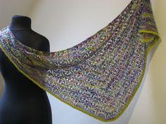 Diy Accessories, Knitted Shawls, Knitting, Crochet, Fashion, Knit Shawls, Moda, Tricot, Fashion Styles