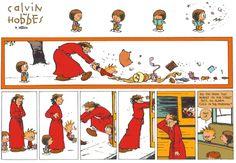 Calvin & Hobbes Good Morning <3