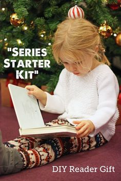 Make A Stuffed Toy I love this Christmas gift idea of a Kids Book Series Starter for encouraging reading SO much - I also adore the idea of being the one to introduce some of my favorite kids to some of my favorite authors! Activities For Kids, Crafts For Kids, Creative Activities, Kids Book Series, Presents For Kids, Gifts For Readers, Gifted Kids, Kits For Kids, Kids Reading