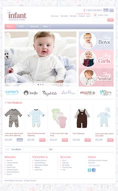 Baby Clothes Websites Fair How Cute Is This Ecommerce Web Design For This Children's Store We Design Inspiration