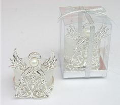 Free shipping Baptism supplies lovely Imitate diamond angel candle holder birthday gift Valentines gift wedding gift houseware