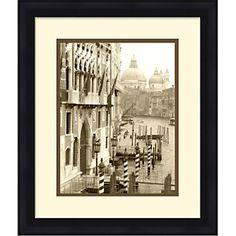 Venice - Framed Giclee Print at HSN.com