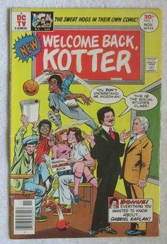 Welcome Back, Kotter #1 (Nov 1976, DC) VG/F 5.0