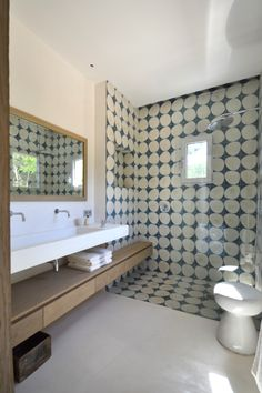 #FESTENarchitecture #ADG // bathroom tiles