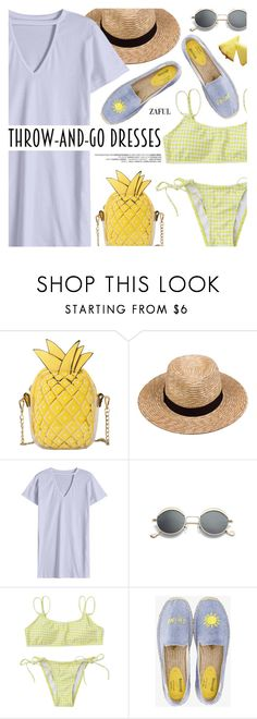 """""""Easy Outfitting: Throw-and-Go Dresses"""" by pokadoll ❤ liked on Polyvore featuring Lack of Color and Soludos"""