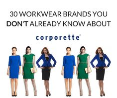 We round up 30 workwear fashion start-ups and independent clothing brands specializing in an aspect of workwear for professional women.