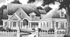 Ivy Manor - Spitzmiller and Norris, Inc. | Southern Living House Plans