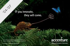 Accenture Ad Agency Replaces Tiger Woods With Elephants, Lizards & Frogs Advert Design, Elephant Images, Best Led Grow Lights, Print Ads, Innovation, Advertising, Branding, Marketing