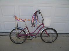 girls original banana bike (All the girls begged for one of these)