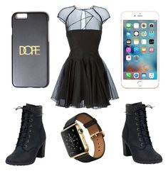 So tired!! by gottalottaprada on Polyvore featuring polyvore, fashion, style, Alex Perry, Timberland and clothing