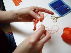 Crochet design development