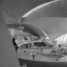 The old TWA flight center was a shrine to minimalist design