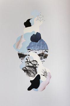 Minimalismo e poesia marcam o belo trabalho da artista e designer espanhola Francisca Pageo. Suas colagens são incríveis, sempre com cores muito bem selecionadas e composições impecáveis.