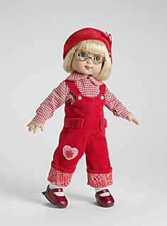 Make your existing 10 In. Mary Engelbreit collection Ann Estelle doll by Tonner into a Sweetheart with this Sweetheart outfit only (just overalls, shirt, hat) which is mint in its sealed package. for $58.00 It is our Item No. MEE0022 under Tonner's Effanbee label at http://www.donnaskorner.com at our Tias.com/Collectoronline.com site.
