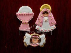 galletas decoradas primera comunion caliz - Google Search