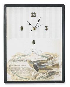 Découpaged Clock project