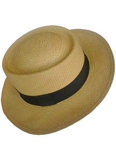 e8fee6503eb6a1 Gamboa Genuine Unisex Panama Hat Summer Sun Hat UPF50 Gambler Straw Brown  Review